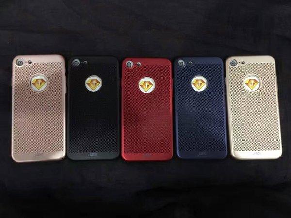 Coque arrière en similicuir BW07 pour iPhone7 plus, coque arrière ajustée souple pour iPhone7 plus