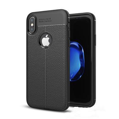 Custodia morbida in silicone TPU Custodia in pelle antiscivolo per iPhone X Xr Xs Max 8 7 6 6S Plus Samsung Nota 10 9 S7 Edge S8 S9 Plus