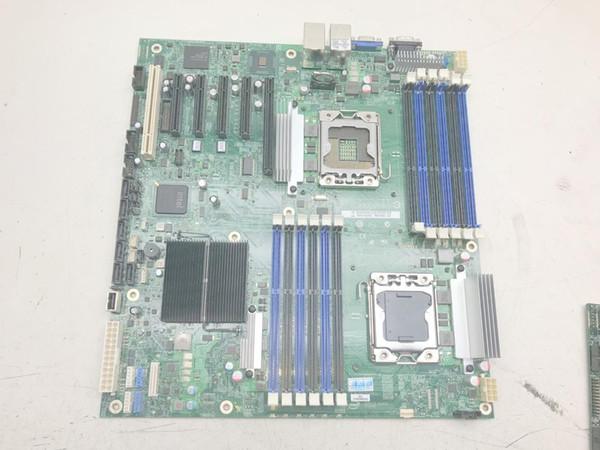 S5520HC oyunu açık sanal makine çift X58 çift ağ kartı LGA 1366 pin sunucu anakart