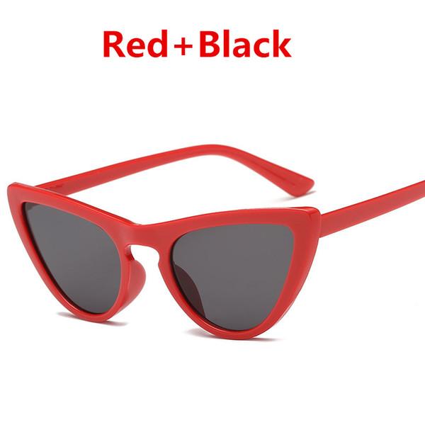빨간색 + B.