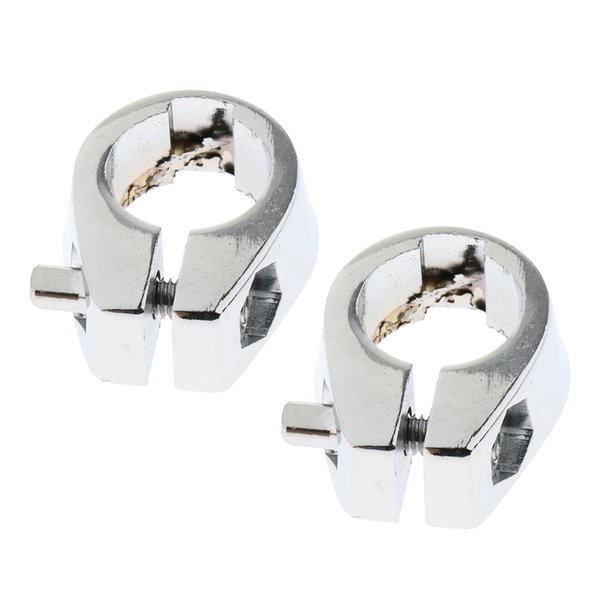 best selling 2 Pieces 19mm Metal Drum Memory Lock Clamp for Drum Musical Instruments Spare Parts