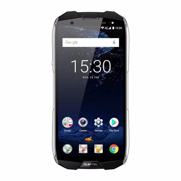 Oukitel WP5000 IP68 Waterproof 6GB+64GB 5200mAh 18:9 Display Android 7.1 MTK6763 Octa Core Fingerprint 9V/2A Mobile Phone