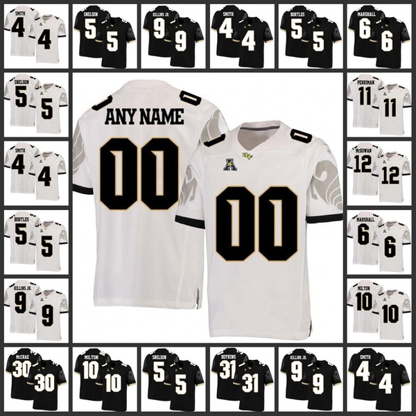 Custom NCAA UCF Knights College Football Jersey Marshall Mike Hughes Michael Torres Shaquem Griffin mens women youth UCF Knights Jersey