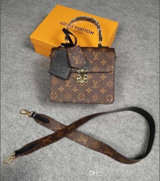 Globe-trotter Beauty Case Style Wild 90373 Women Fashion Shows Shoulder Bags Totes Handbags Top Handles Cross Body Messenger Bags