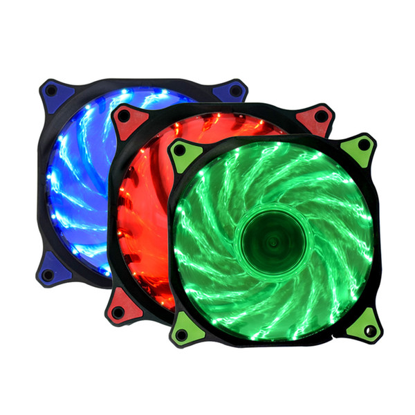 Array - 2019 fans cooling 15 33led 12cm 120mm cooler silent fan blue green red white color light guide ring from battery 888  13 53   dhgate com  rh   m dhgate com