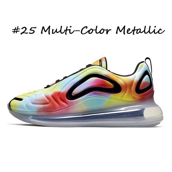 # 25 multi-couleur métallique