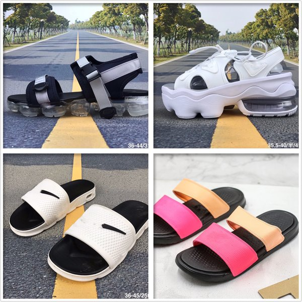 top popular 20ss Summer sandals and slippers beach slippers fashion sneakers sole anti-skid Velcro comfortable casual sandals 2020