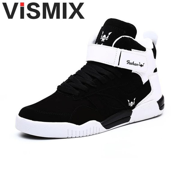 Grande taille 39-46 Sneakers Justin Bieber Superstar Bottes Hip Hop High Top Chaussures Hommes Casual Male Y200106