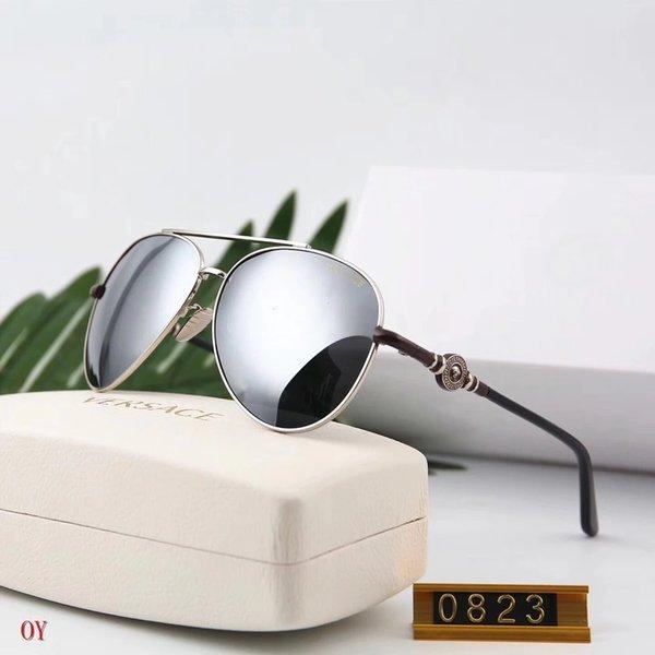 Espejo Gafas Adumbrales Gafas de sol de diseñador Gafas de sol de lujo para hombre para mujer UV400 Estilo V0823 7 colores opcional de alta calidad con caja