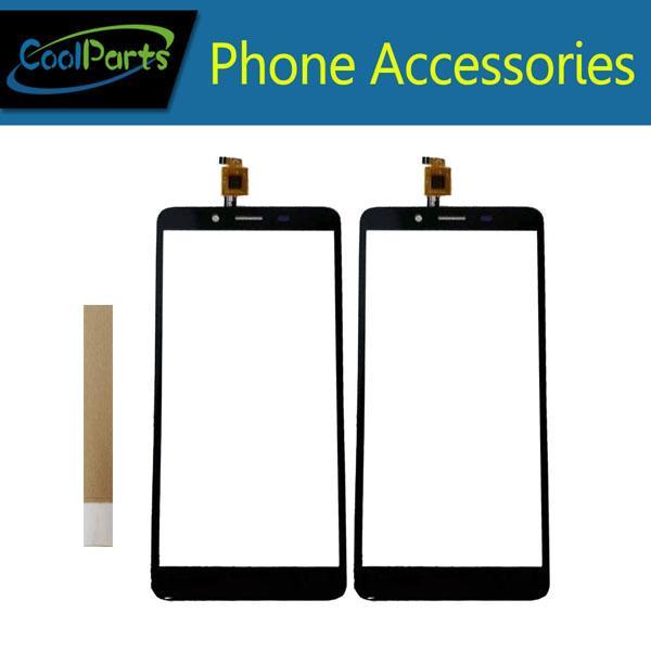 Für Highscreen Wallet Touchscreen Digititer Sensor Touch Panel Glas Mit Klebeband Farbe Schwarz