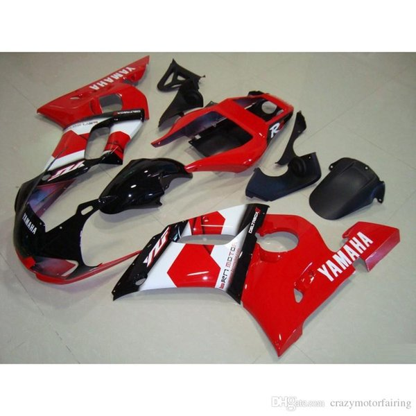 3 Free gifts New ABS Fairing Kits 100% Fitment For YAMAHA YZF-R6 98-02 YZF600 1998 1999 2000 2001 2002 bodywork set hot buy red black