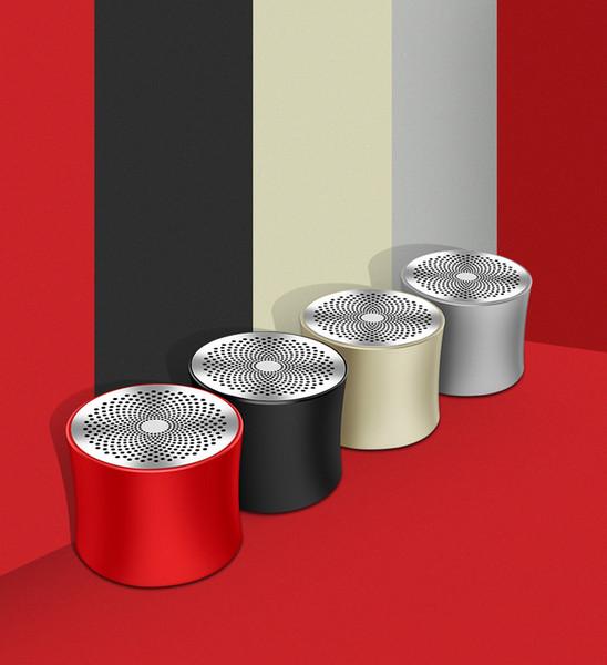 2019 TWS Bluetooth Lautsprecher neue private Modell Metall tragbare Karte kleine Audio-E-Commerce-Geschenk angepasst Lautsprecher Logo A2 versandkostenfrei groß