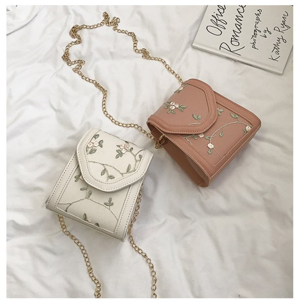 2018 neue Schulter Messenger Bag Mode Frauen Handtasche Schultertasche Brief Druck Schulter Messenger Umhängetasche
