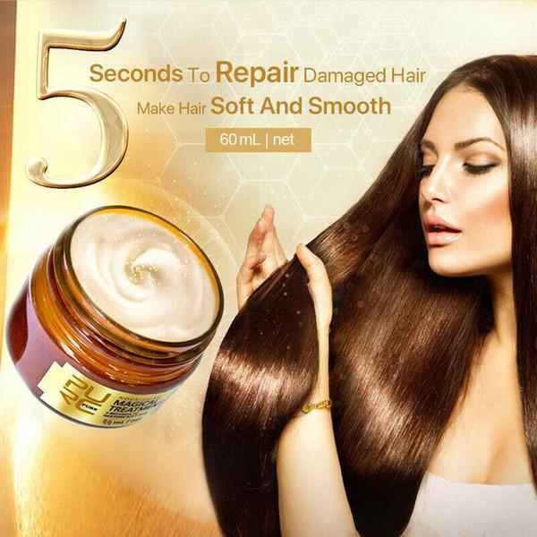 top popular PURC Magical Treatment Mask 120ml 5 Second Repairs Damage Restore Soft Hair Essential for All Hair Types Keratin Hair Smooth Cream 2021
