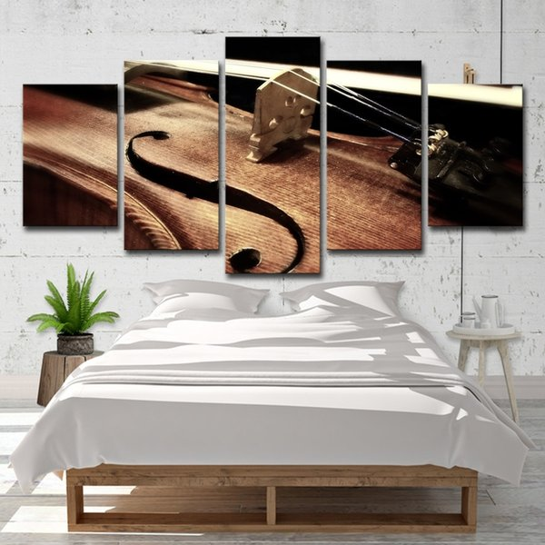 2019 Violin String Paintings Living Room Musical Instruments Wall Art HD  Print Canvas Painting Fashion Hanging Pictures From Wallartpaint, $20.1 |  ...