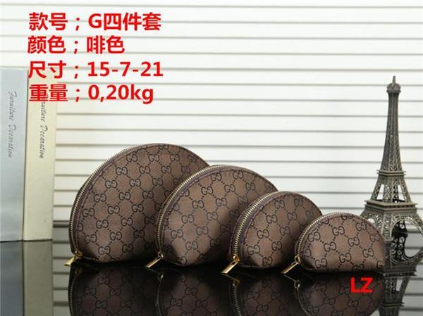 New Arrival 4Pcs/Set Women Bag Fashion Design Women Wash Bag Large Capacity Cosmetic Bags Makeup Toiletry Bag Pouch Travel Bags