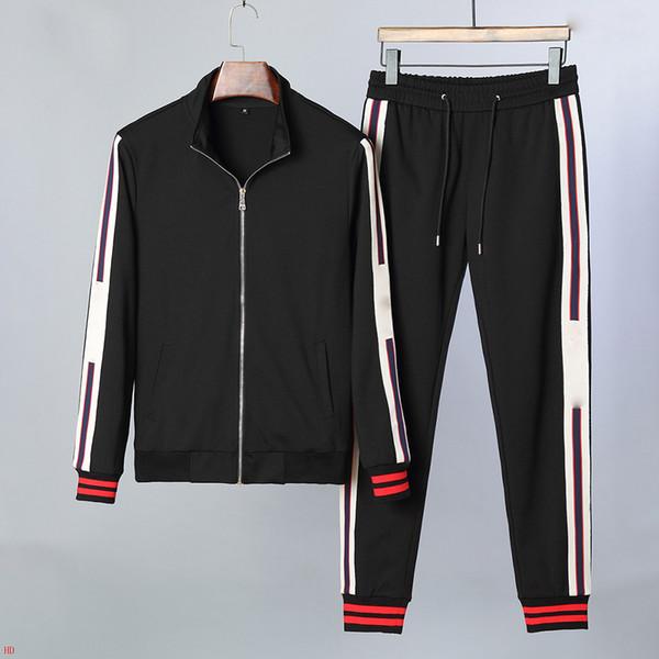 2019 Новый мужская спортивная куртка + брюки спортивная мужская повседневная утренняя тренировка толстовка мужские костюмы азиатские размеры