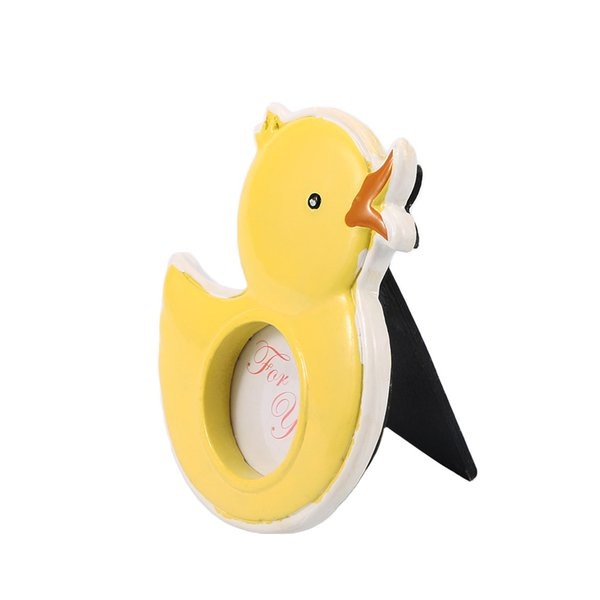 New Arrival Lovely Yellow Little Duckling Baby Shower Boy Kids Birthday Party Girl Mini Picture Photo Frame Home Decor