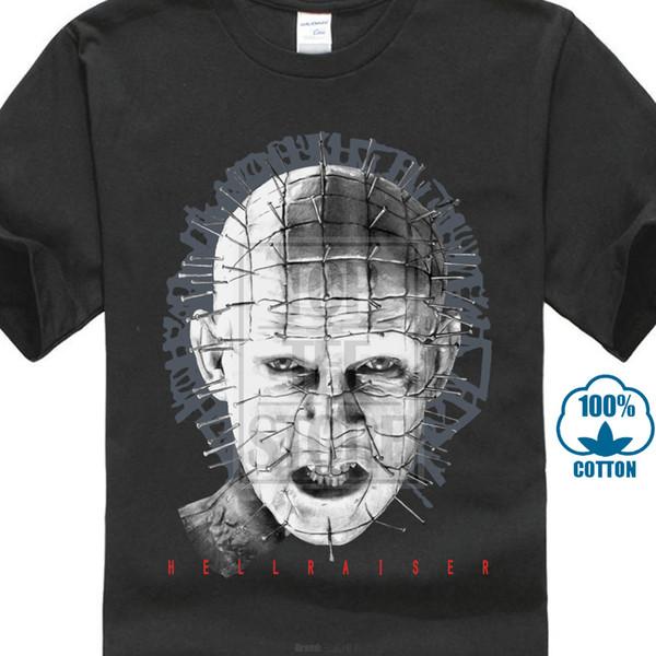 Maglietta della collezione speciale Hellraiser Nuova maglietta Maglietta con stampa uomo moda uomo Maglietta classica per uomo