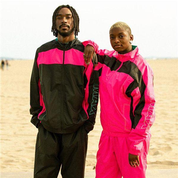Coupe-vent Marque En Plein Air Vestes Hiphop Streetwear Designer Chandail Zipper Patchwork Manteaux Mode À Manches Longues Sport Hommes Femmes LJJ98307