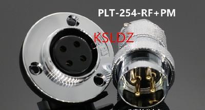 top popular Free shipping lot (1 pieces lot)original New PLT APEX PLT-254-RF+PM PLT-254-RF-R PLT-254-PM-R 4PINS Aviation Plug and Socket Connect 2021