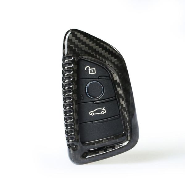 Per BMW X1 X3 X5 X6 2 5 7 Serise car-styling Nuovo supporto di alta qualità in fibra di carbonio per telecomando