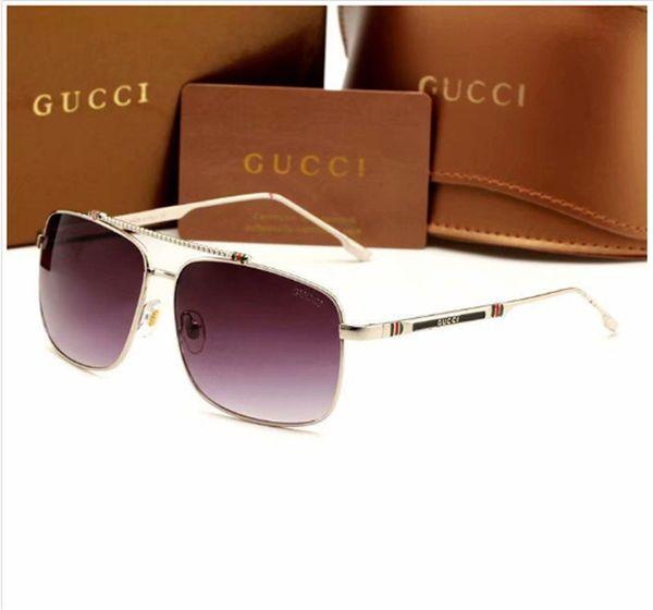 1035 Sunglasees Italia gafas de sol de moda para hombres mujeres piloto Sunglass Retro gafas de sol para mujer Diseñador gafas de sol gafas de sol