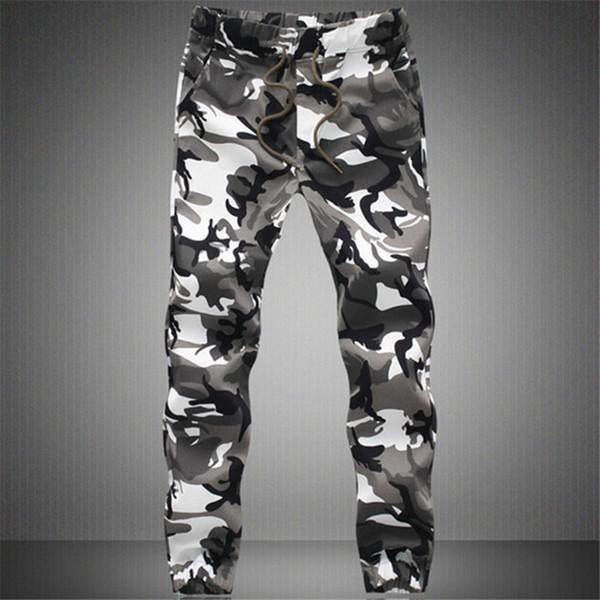 2019 Nuovi Uomini Joggers Vendita Calda Pantaloni Casual Camouflage Uomo Qualità 100% Cotone Elastico Pantaloni Comodi Da Uomo Plus Size M-3xl Y190518