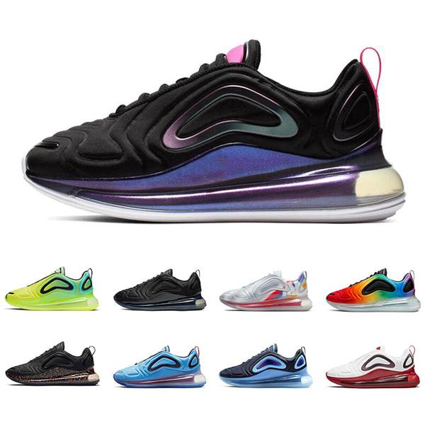nike air max 720 Hot uomo donna scarpe da corsa di alta qualità Be True Pride GYM RED triple nero bianco Easter Pack mens scarpe da ginnastica moda sport sneakers