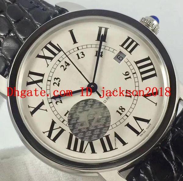 b3c5ffbe5f7 ZF SOLO W6701010 Relogio 9015 Movimento Automático Relógio De Luxo AAA Homem  Pulseira De Couro De