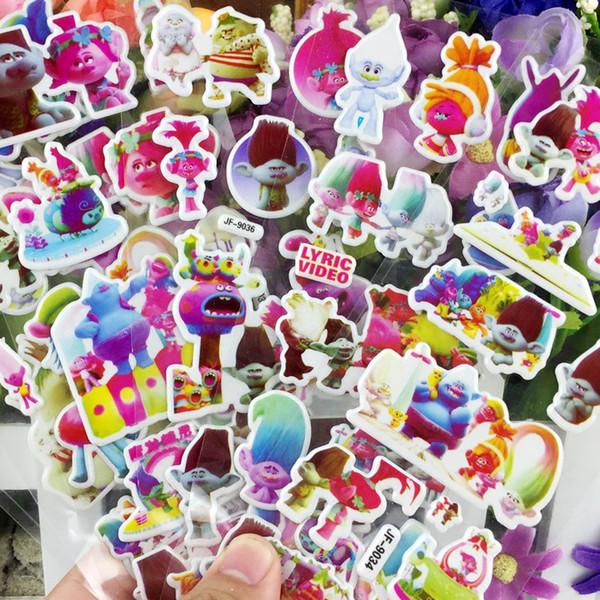 American new movie Magic Hair elf stereo cartoon foam sticker high quality bubble stickers