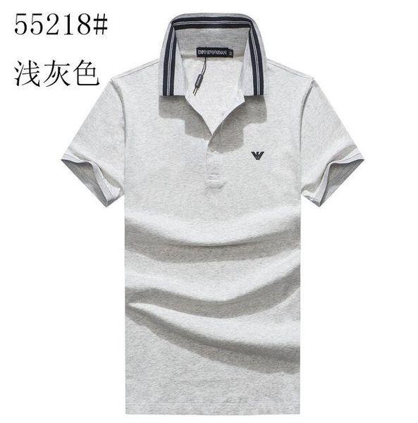 Yeni Moda Hip Hop Yaz Kısa Kollu TShirt Erkekler Pamuk Rahat Erkek Kazak T-shirt Baskı 55218 #