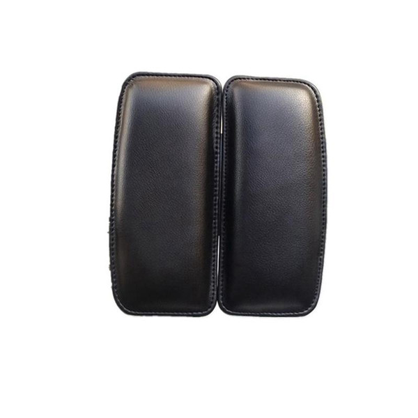 Car Seat Knee Pads Knees Protection Soft Cushion Leather Interior Pillow Universal Thigh Support Accessories Black EEA78