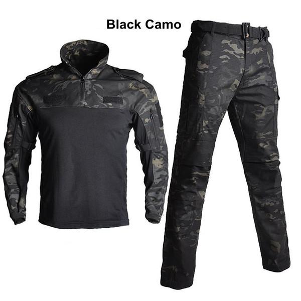Schwarze Camouflage
