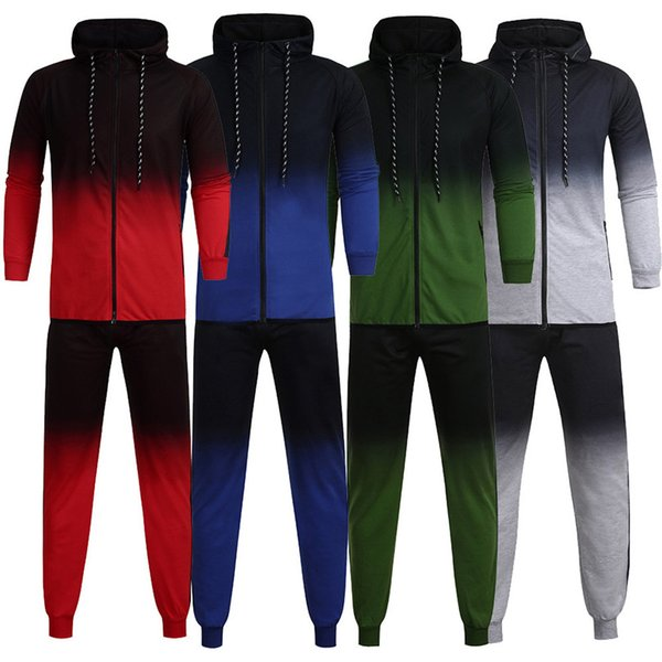 Mens Sportting Suits Plus Size Sets Fitness Suits Track Suit Fitness