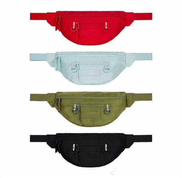 top popular Reflective stripe Men women waist Bags fanny packs Hip Belt Bags Money Travelling Mountaineering Mobile Phone Bag Waist Packs 2020