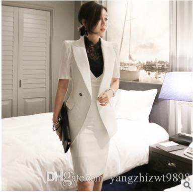 Plus2019 Pop Sale Spring Fall Professional Women's Dress Suit Female Uniform OL Skirt Career Business Suit + Hip Skirt Free Shipping