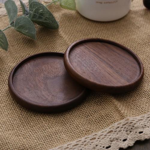 black walnut round groove