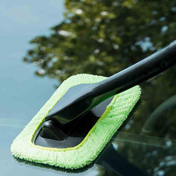 Nouvelle voiture voiture nettoyage Windows Pare-brise Brouillard Outil De Nettoyage Brosse De Lavage Chiffon Essuyer Duster Home Office Auto Windows Verre Tissu