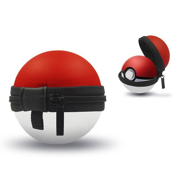 New Arrival 7cm Mini EVA Bag For Nintendo Switch Elf Ball Anime Ball with Action Figures Super Master Genius Ball Case High Quality