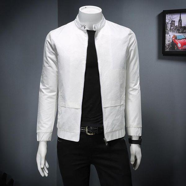Spring New Men S Colletto Versione coreana della giacca slim Esplosioni europee Moda Fornitura spot di fascia alta