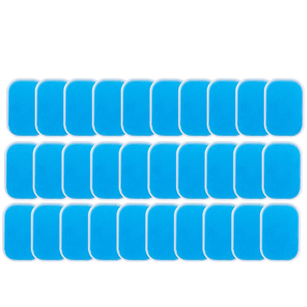 top popular 60PCS EMS Gel Pad, Electrode Gel Replacement Pad, EMS Absorbent Abdominal Muscle Trainer Accessories 2021