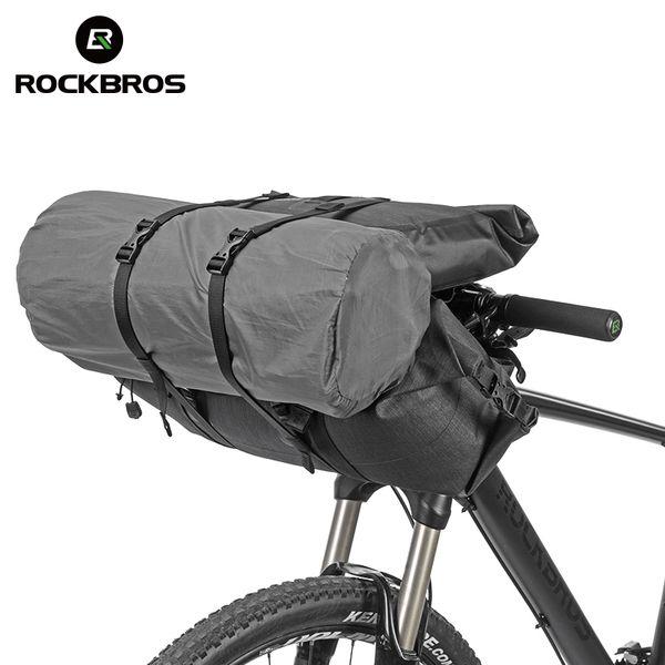 Waterproof Bicycle Bags Big Capacity Mtb Road Cycling Handlebar Bags Front Frame Tube Trunk Pannier Bike Accessories