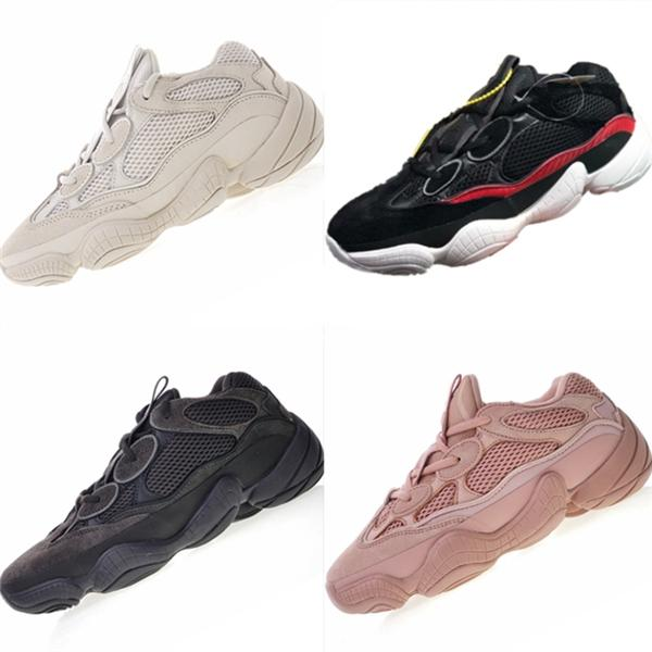 High Quality 500 Desert Rat Suede and Mesh Kids Running Sneakers Kanye West 500 Desert Rat Cushioning Children Athletic Shoes