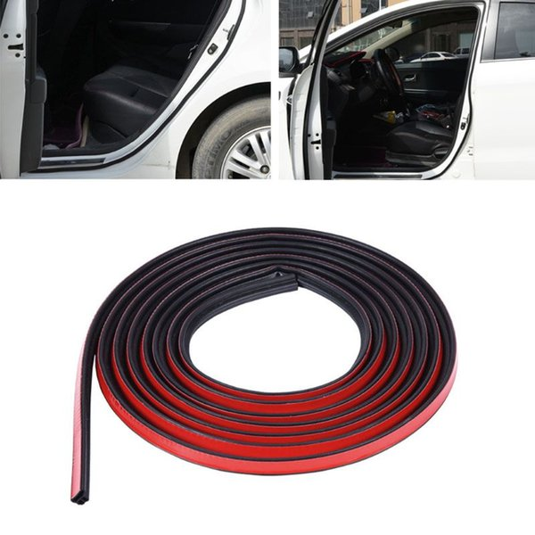 Trim L Shape Rubber Seal Strip Weatherstrip For Car SUV Hood Trunk Door Window