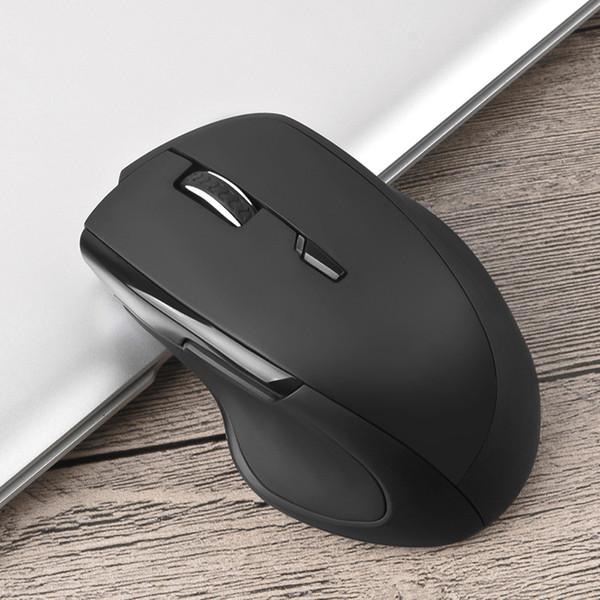 AI Voz Mouse Sem Fio Recarregável 2.4G USB Compatível Com o Windows XP / 7/8/10 para PC Laptop Notebook Game Gamer