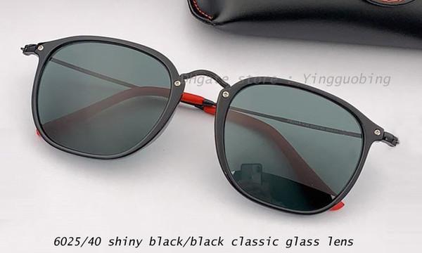 6025/40 shiny black/black classic