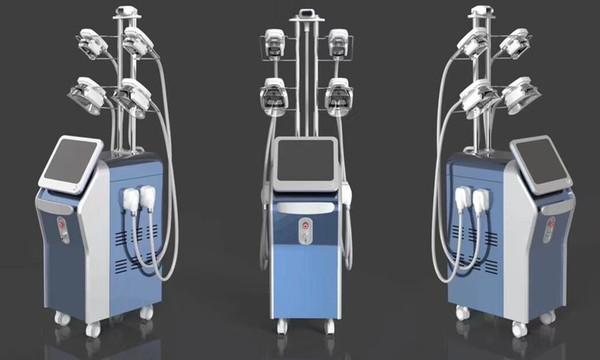 Date 2019 !!! professionnel 5 poignées laser vide froid froid cryothérapie thérapie graisse gel congélation perte de poids minceur machine