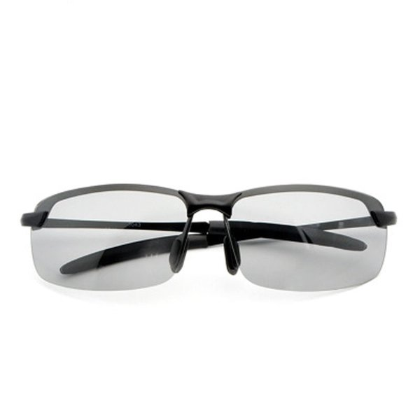 Men's color-changing sunglasses driving polarized riding sunglasses anti-UV Chameleon Glasses Day Night Vision Driving Eyewear