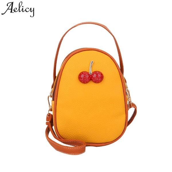 Aelicy girls shoulder Bag Fruit Cherry Beach Bags Ladies Handbags Casual Crossbody Bags for women bolsa feminina dropshipping